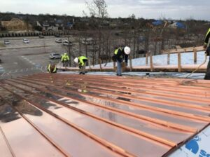new copper roof