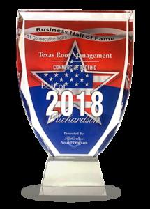 Best of Richardson 2018 Award